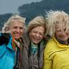 Windblown but Happy on Cerro Campanario, Bariloche, Argentina