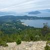 View of Lake Nahuel Huapi from Cerro Campanario, Bariloche, Argentina