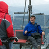 Saba on his Way to Cerro Campanario, Bariloche, Argentina
