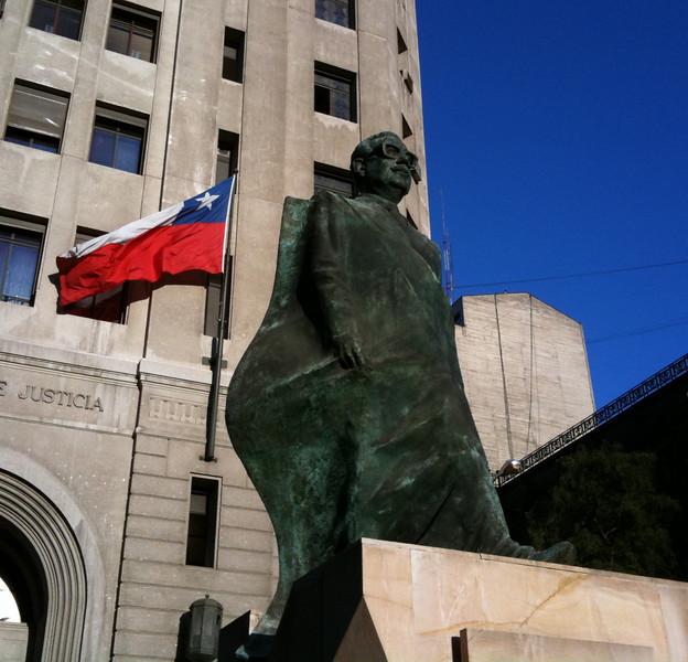 Allende, martyr