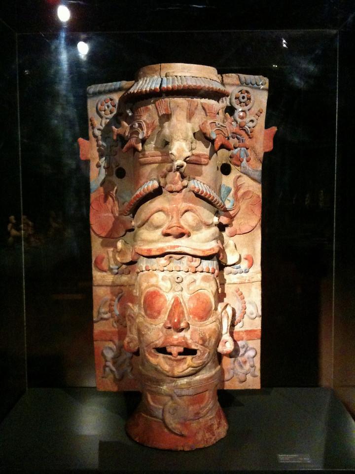 A Mayan ceramic
