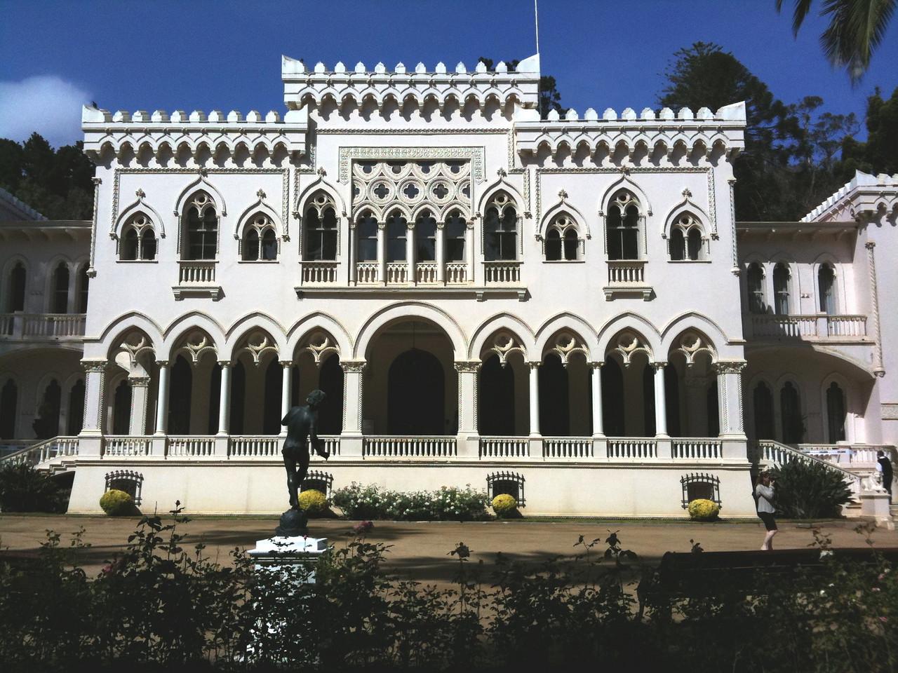 Vina del Mar founder's mansion