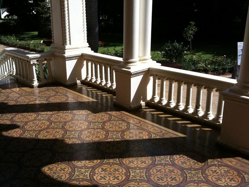 Mansion porch