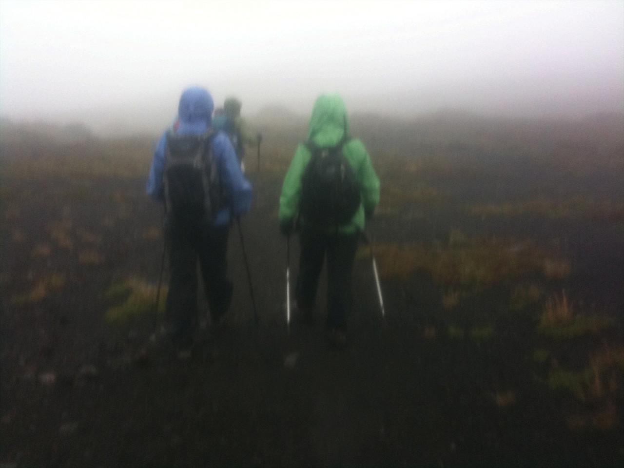 Towards Desolation Pass