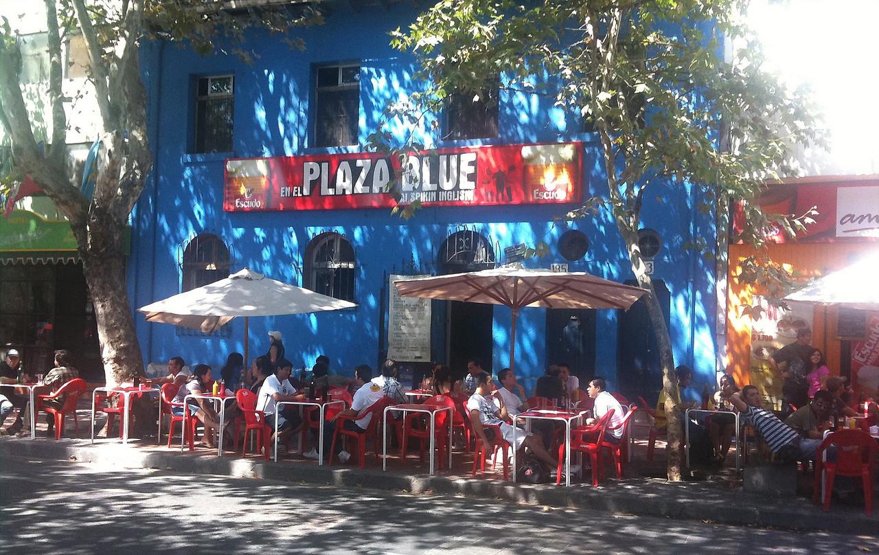 Barrio Bohemio Saturday afternoon