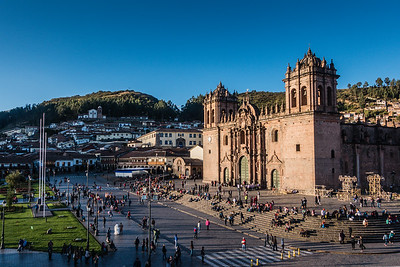 Late afternoon In Cusco