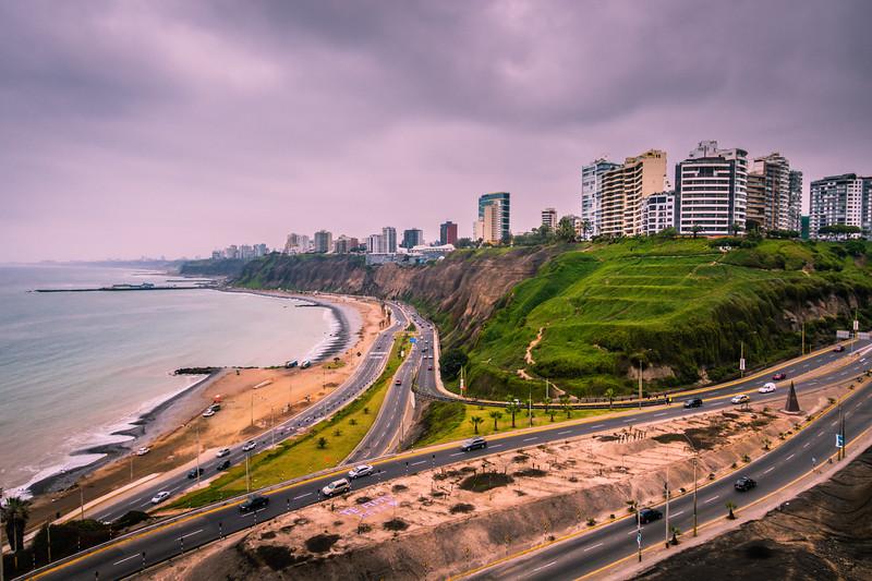 The Coastline of Miraflores