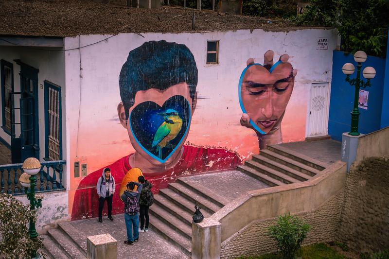 Graffiti in Barranco