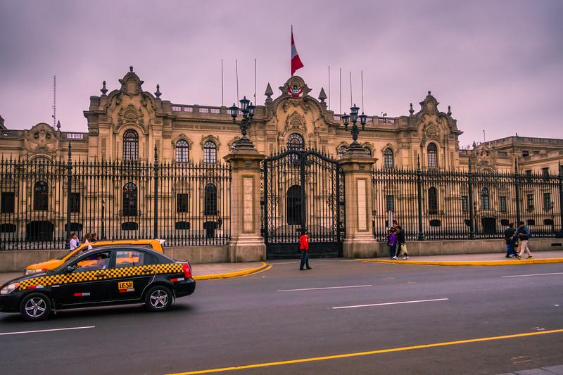 Government Palace, Lima