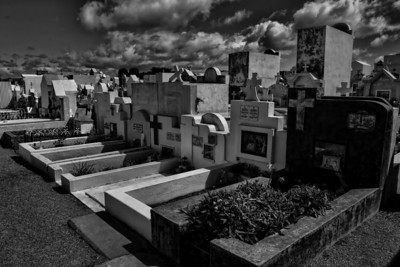 Cemetery in Punta de Arenas, Chile