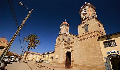 Iglesia de Andacollo. Andacollo, Chili.