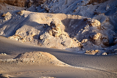 San Pedro de Atacama , Valle de la Luna at Sunset