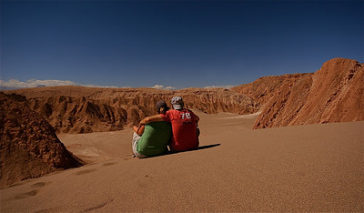 Just the two of us. Valle de la Muerte, Cordillera de la Sal. Desierto de Atacama, Chili.