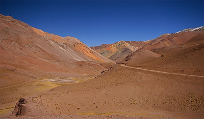La Gitana. Paso de Agua Negra, Chili.