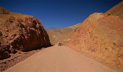Nueva Elqui. Paso de Agua Negra, Chili.