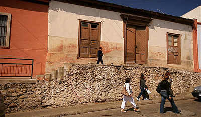 Calle Andres Bello. La Serena, Chili.