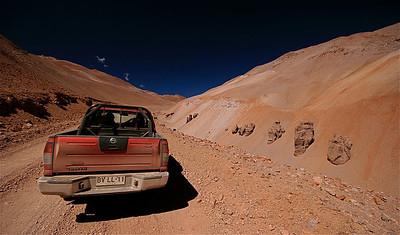 Ruta al Limite. Paso de Agua Negra, Chili.