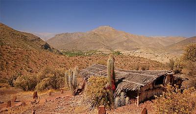 Monumento Natural Pichasca. Ruta Antakari, Chili.