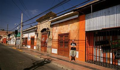 Calle Balmaceda. La Serena, Chili.
