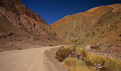 Herdershut. Paso de Agua Negra, Chili.