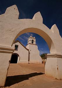 Iglesia de San Pedro de Atacama. Desierto de Atacama, Chili.