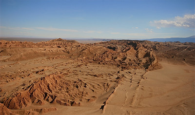 Valle de la Luna, Cordillera de la Sal. Desierto de Atacama, Chili.