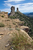 Rock Pillars, Chimney Rock Archaeological Area and National Historic Site, San Juan National Forest, Archuleta County, Colorado