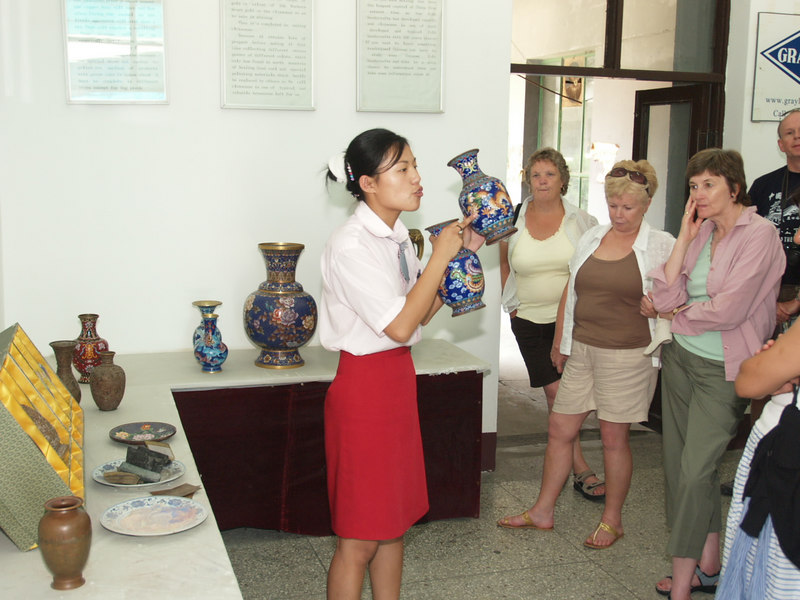 """CLOISONNE enamel explained. For an explanation of the whole process see also    <a href=""""http://www.jingfa.com/MAKING.htm"""">http://www.jingfa.com/MAKING.htm</a> (NB poor English!)"""