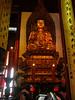 One of three buddha (not jade) statues