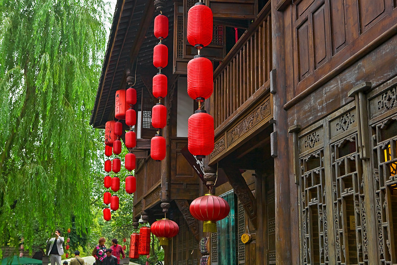 China, Chengdu Travel, Landscape 成都 旅行
