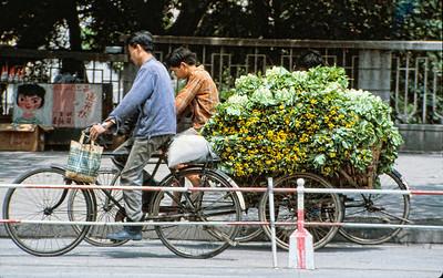 On a street in Guangzhou.