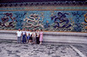 Kathryn Wilde with the Epps & others, Nine Dragon Wall at the Forbidden City