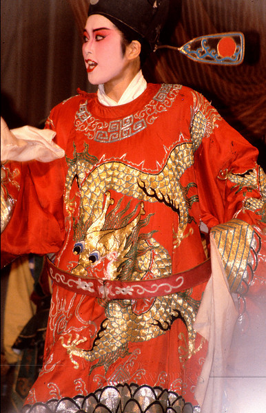 Lead Character in a Sichuan Opera; Nanchong, China