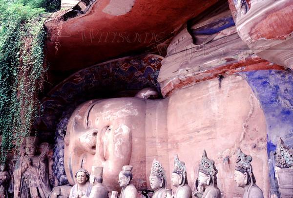 Giant Reclining Buddha of Dazu; Baoding Hill, China (Sichuan Province)
