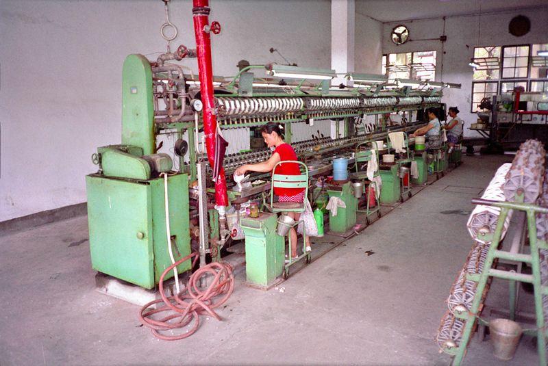 Productieproces zijde