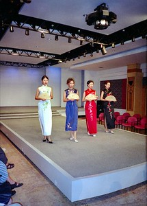 Modeshow zijde