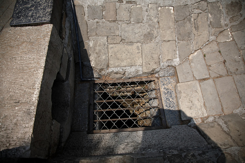 People were thrown in this imperial well. (servants)