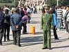 Tiananmen Square - riot police