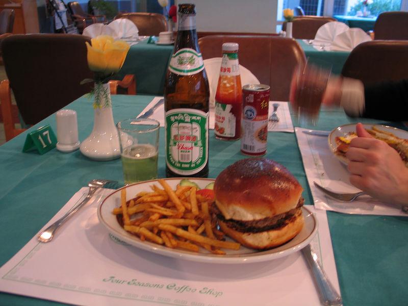Yak Burger!