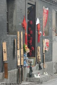 The Hutongs in Beijing.
