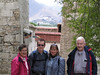 The Balduf family in Lhasa.