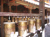 Buddhist prayer wheels (Lhasa)