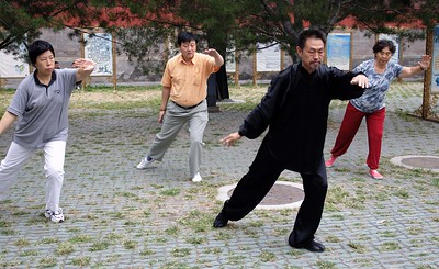The Temple of Heaven: Tai Chi lesson