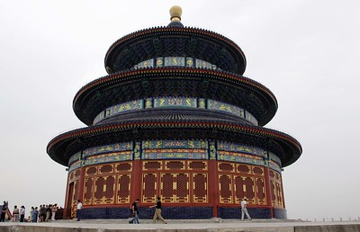The Temple of Heaven: The temple itself
