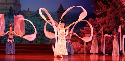Shaanxi Grand Opera Opera House: We watched this show, which was followed by a dumpling banquet, which was included in the price. Both the show and meal were quite exceptional. Unlike some of the shows we had seen, this was more serious.