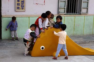 Around Yangshou: Fuli village playground