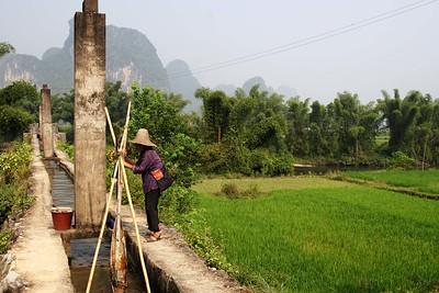 Around Yangshou: Irrigation