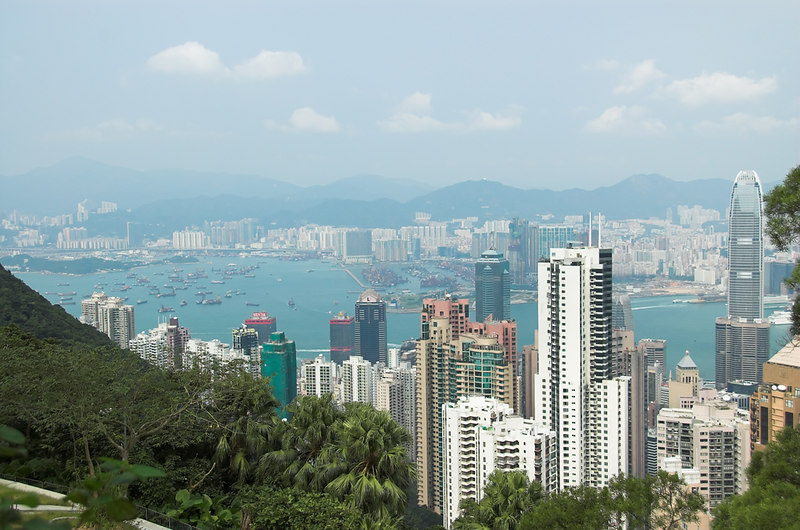 Victoria Peak - Tai Ping Shan (Mountain of Great Peasce)<br /> Hong Kong