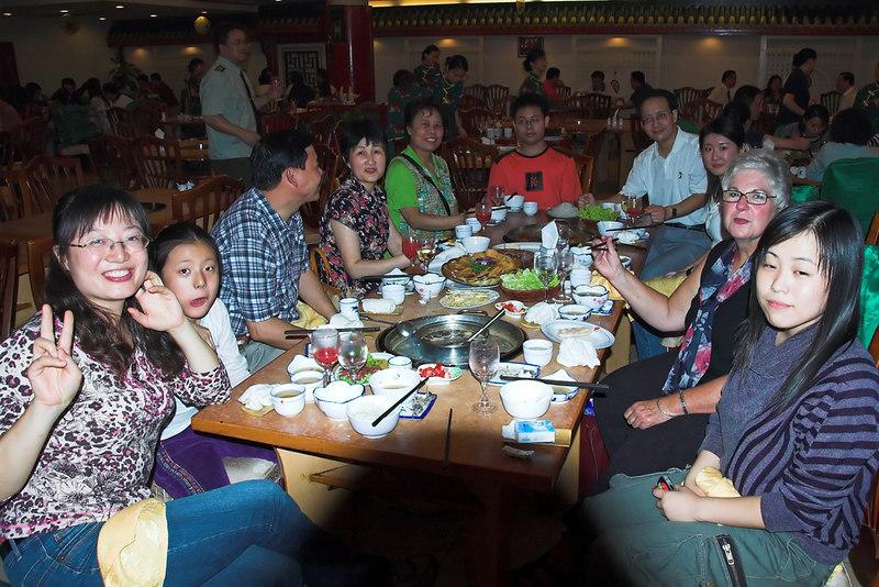Chongqing - Friends for dinner