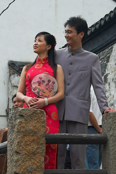 Suzhou (Plentiful Water) or The Grand Canal<br /> Couples come here for marriage photos
